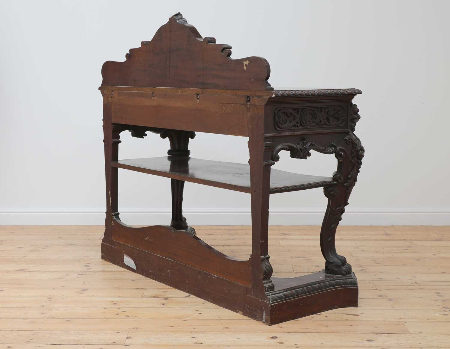 A mahogany serving table by Gillows of Lancaster, - Image 5 of 5
