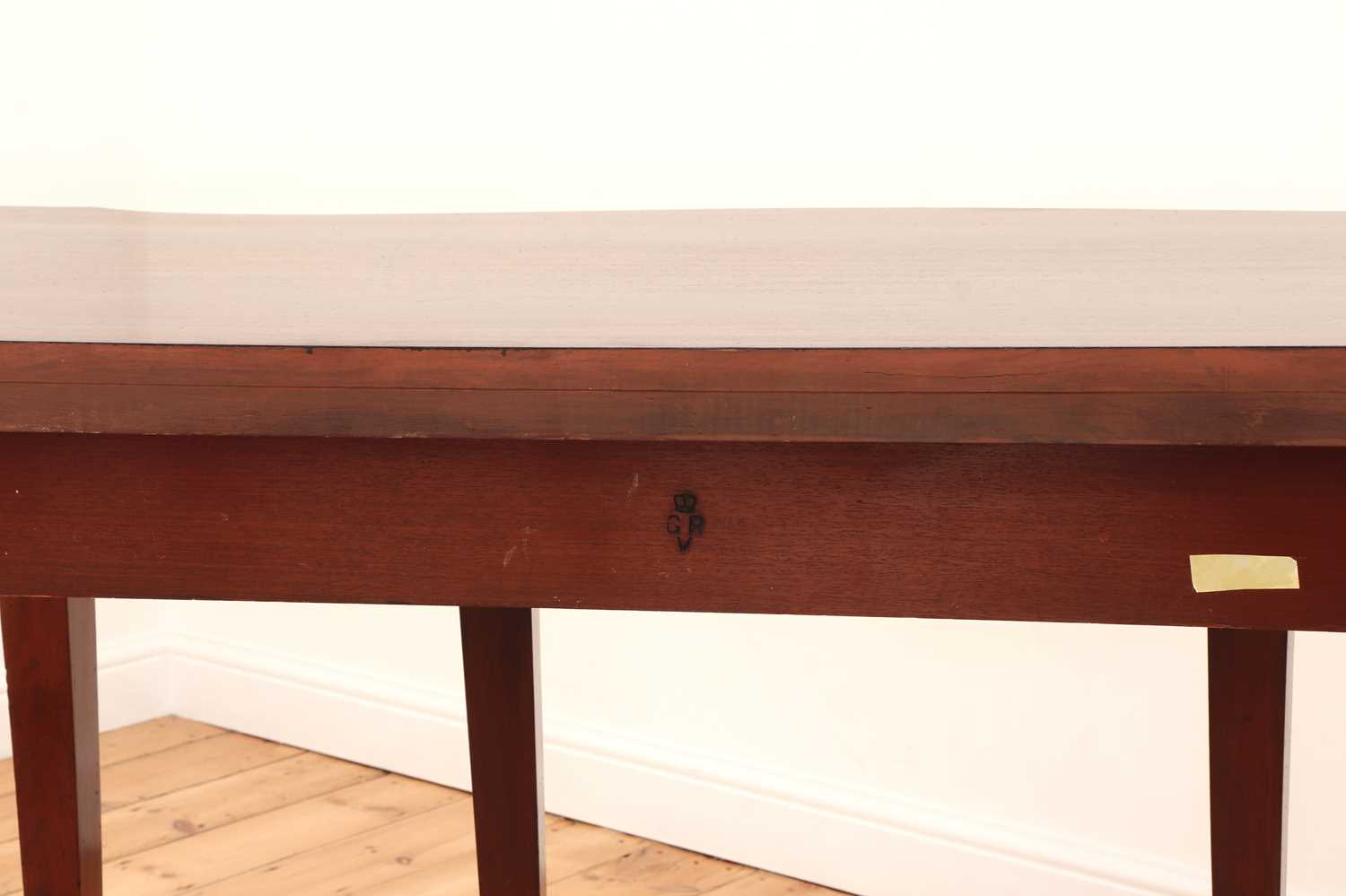 A pair of mahogany console tables, - Image 7 of 10