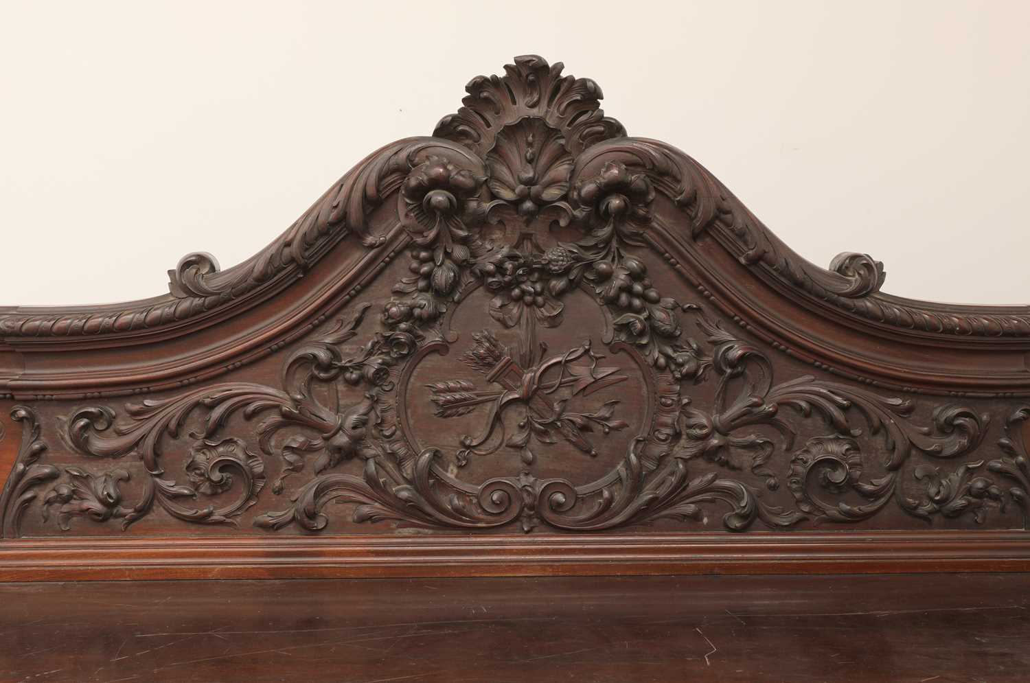 A large mahogany serving table by Gillows of Lancaster, - Image 5 of 10