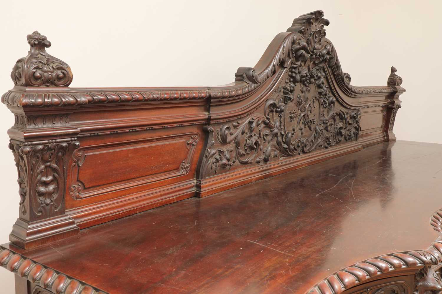 A large mahogany serving table by Gillows of Lancaster, - Image 4 of 10