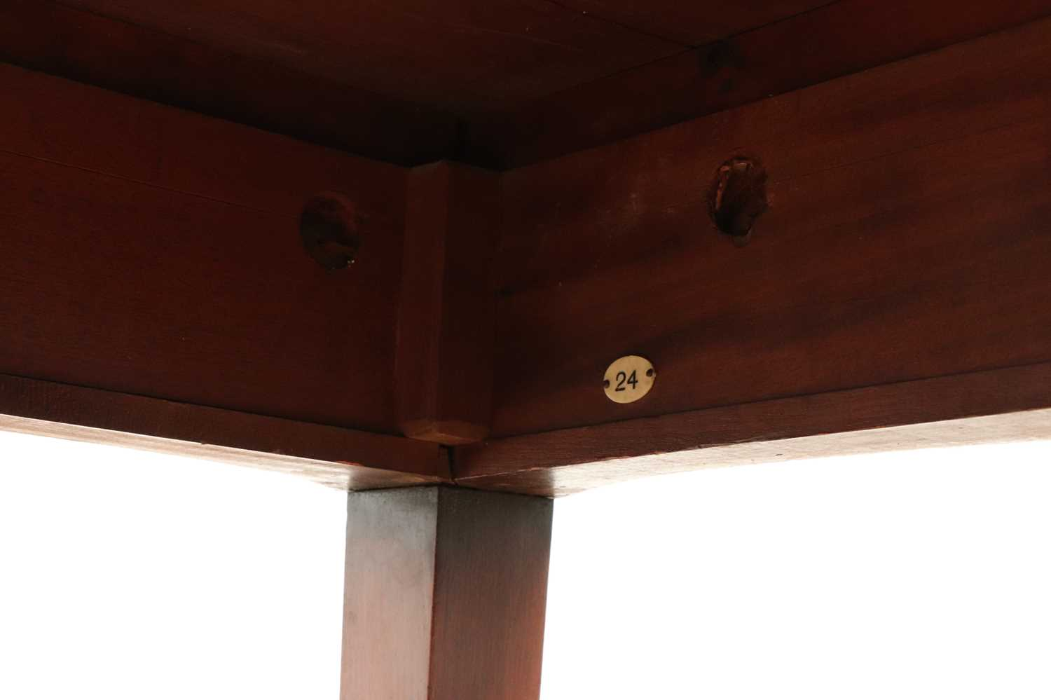 A pair of mahogany console tables, - Image 10 of 10
