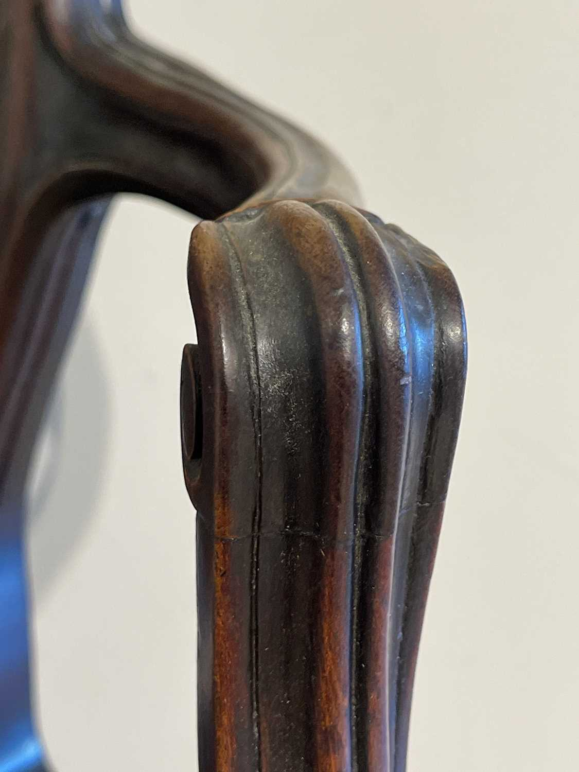 A pair of mahogany hall chairs, - Image 98 of 119