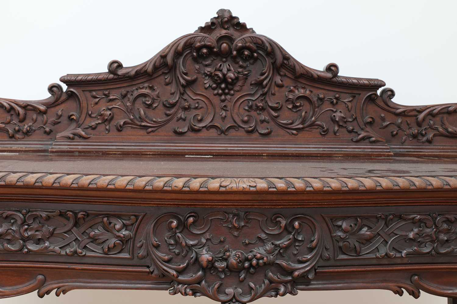 A mahogany serving table by Gillows of Lancaster, - Image 3 of 5