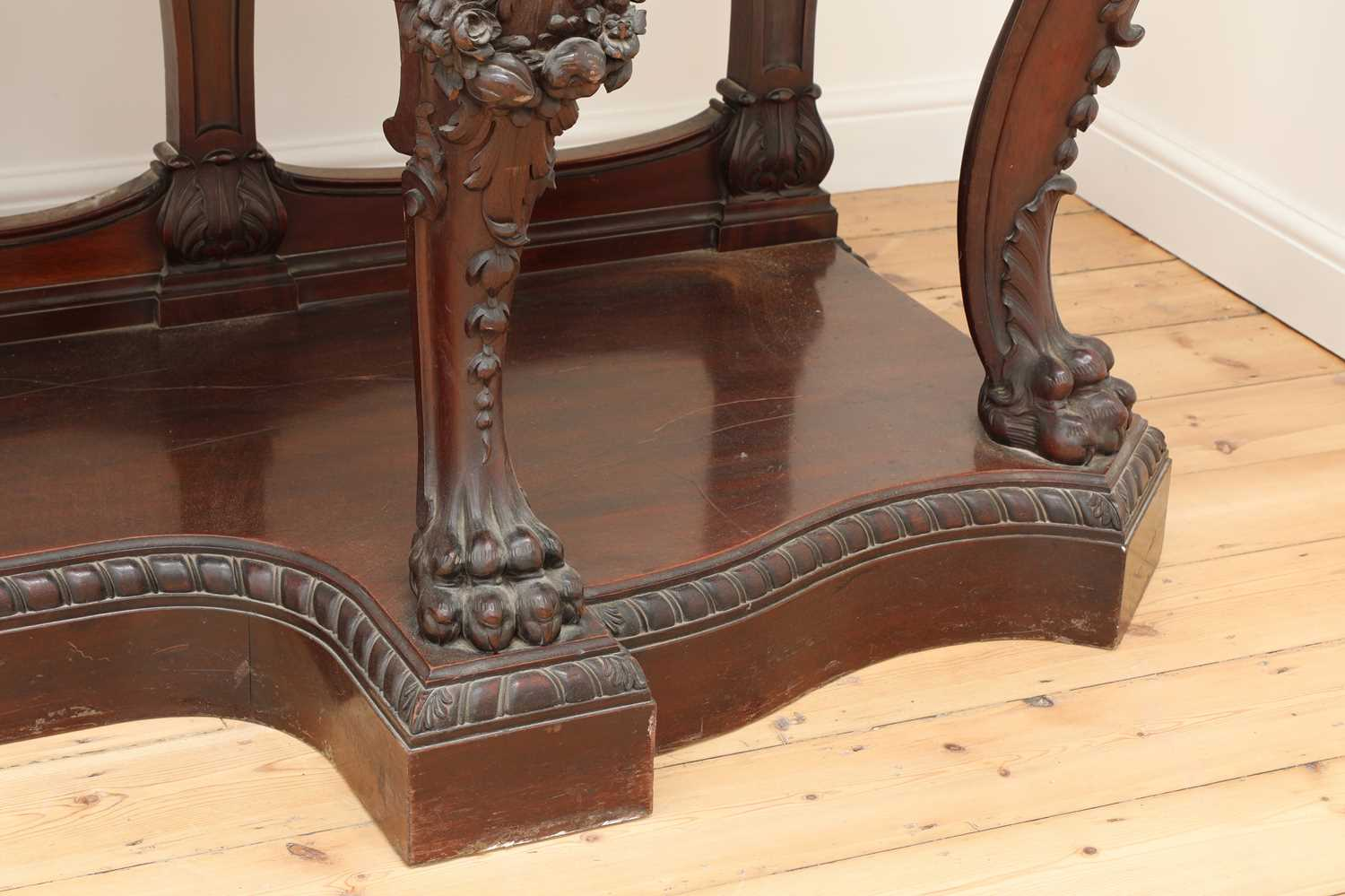 A large mahogany serving table by Gillows of Lancaster, - Image 8 of 10