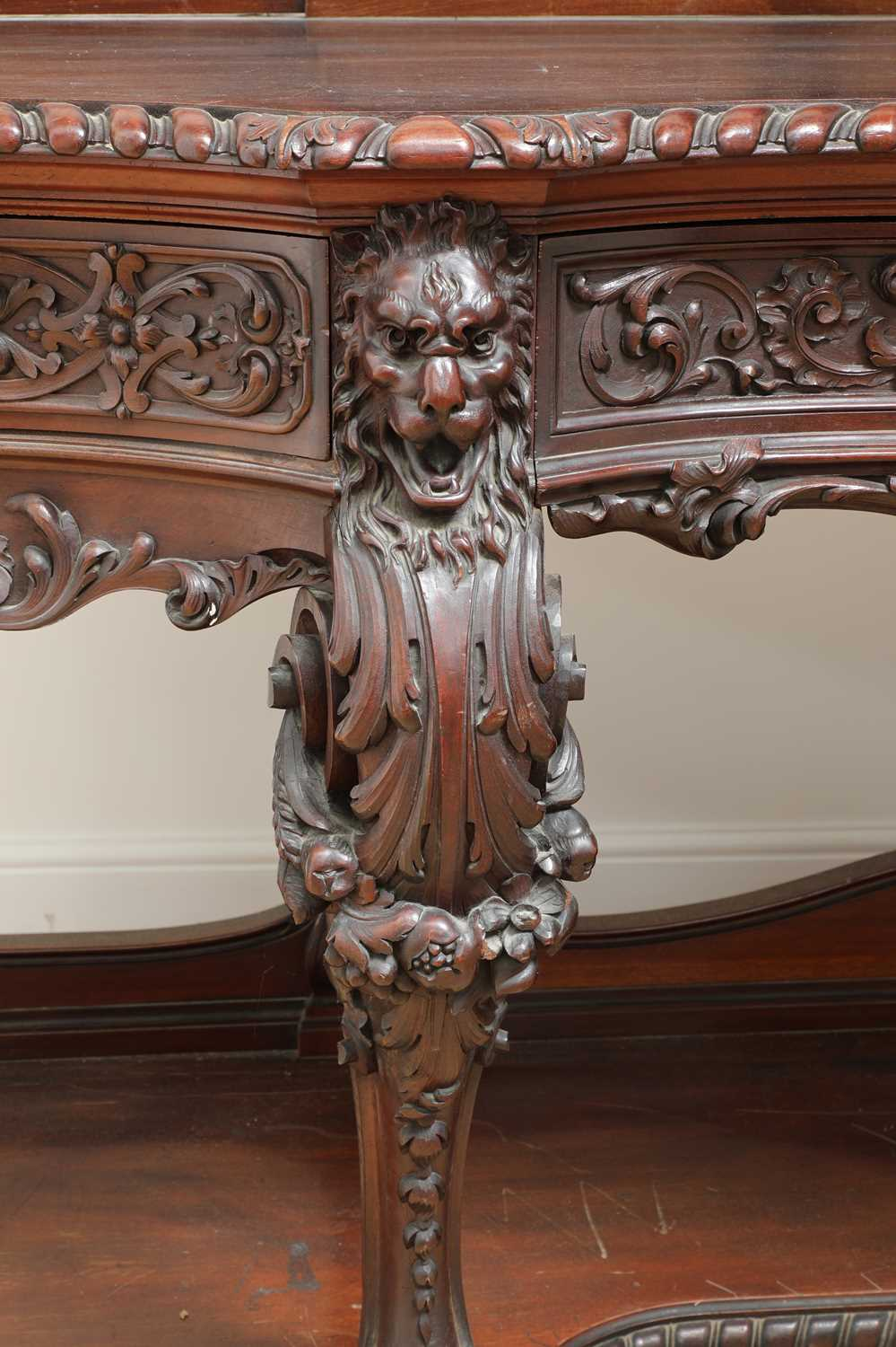A large mahogany serving table by Gillows of Lancaster, - Image 9 of 10