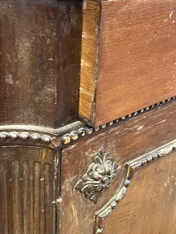 A George III-style walnut partners' desk, - Image 18 of 24