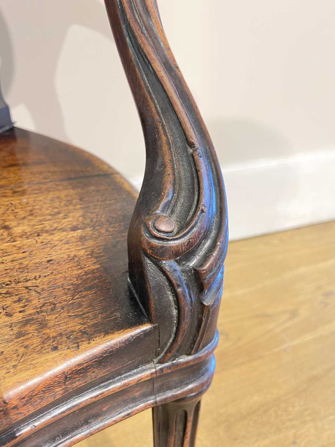 A pair of mahogany hall chairs, - Image 52 of 119