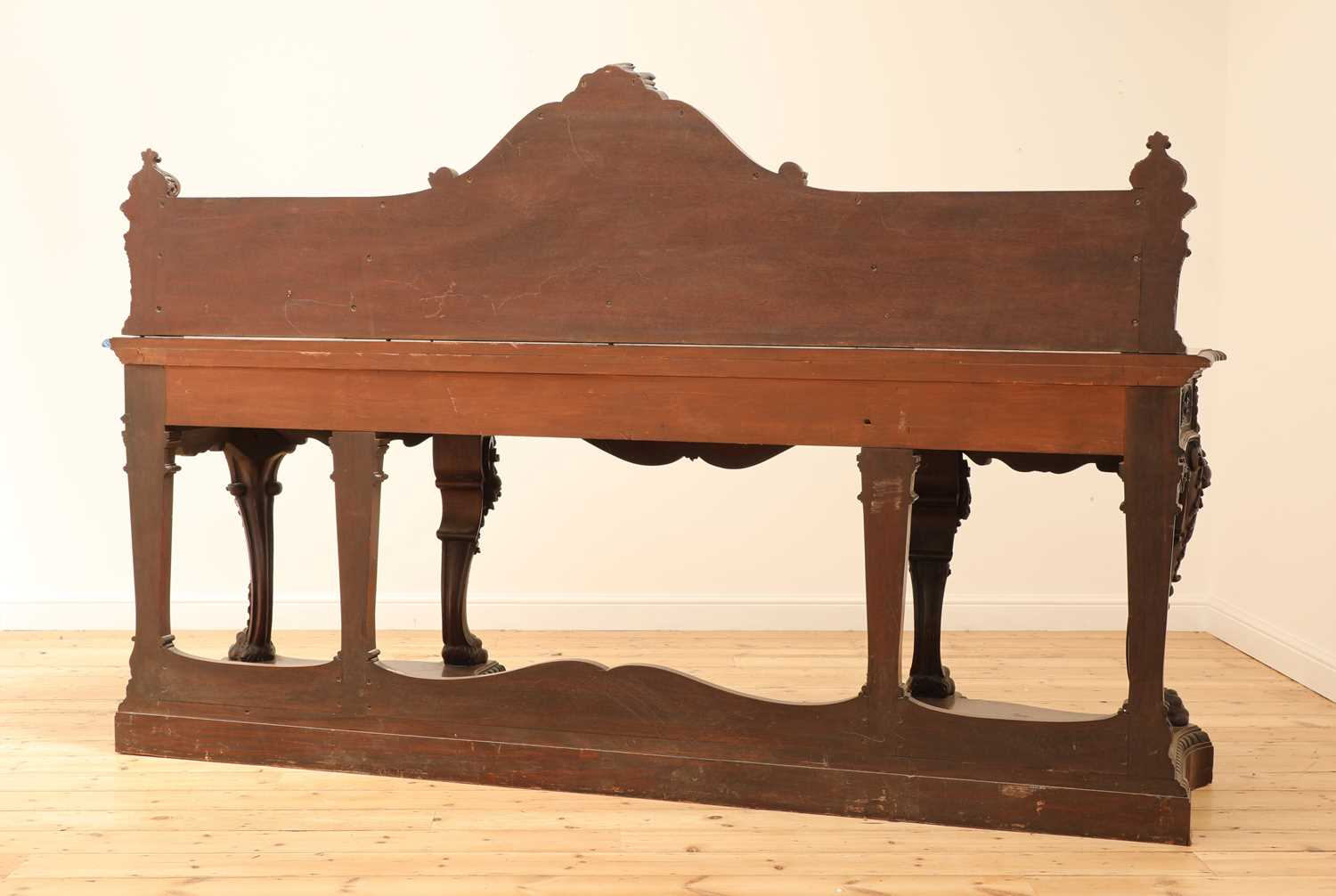 A large mahogany serving table by Gillows of Lancaster, - Image 10 of 10