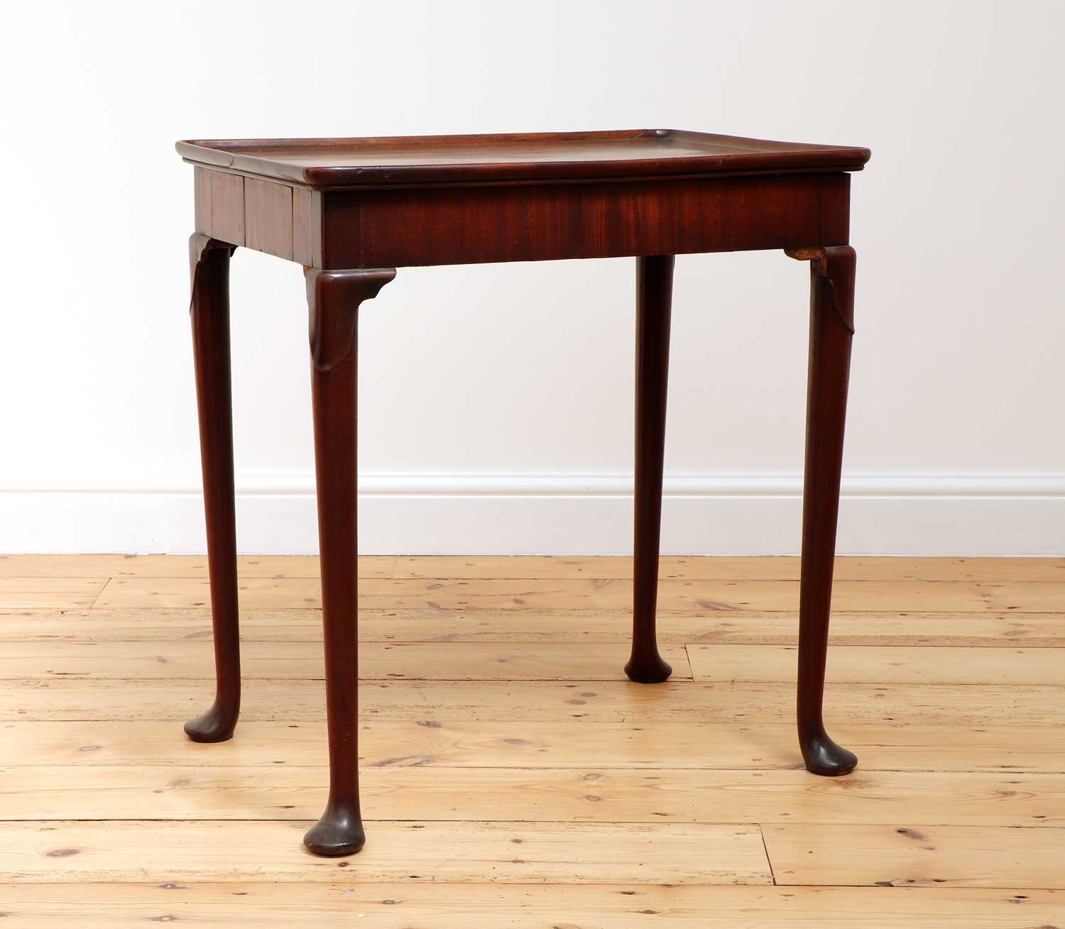 A George II mahogany silver table, - Image 3 of 9