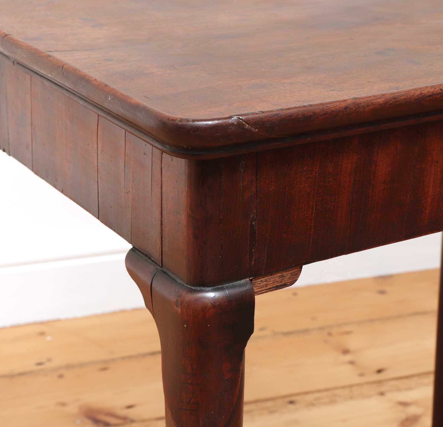 A George II mahogany silver table, - Image 9 of 9