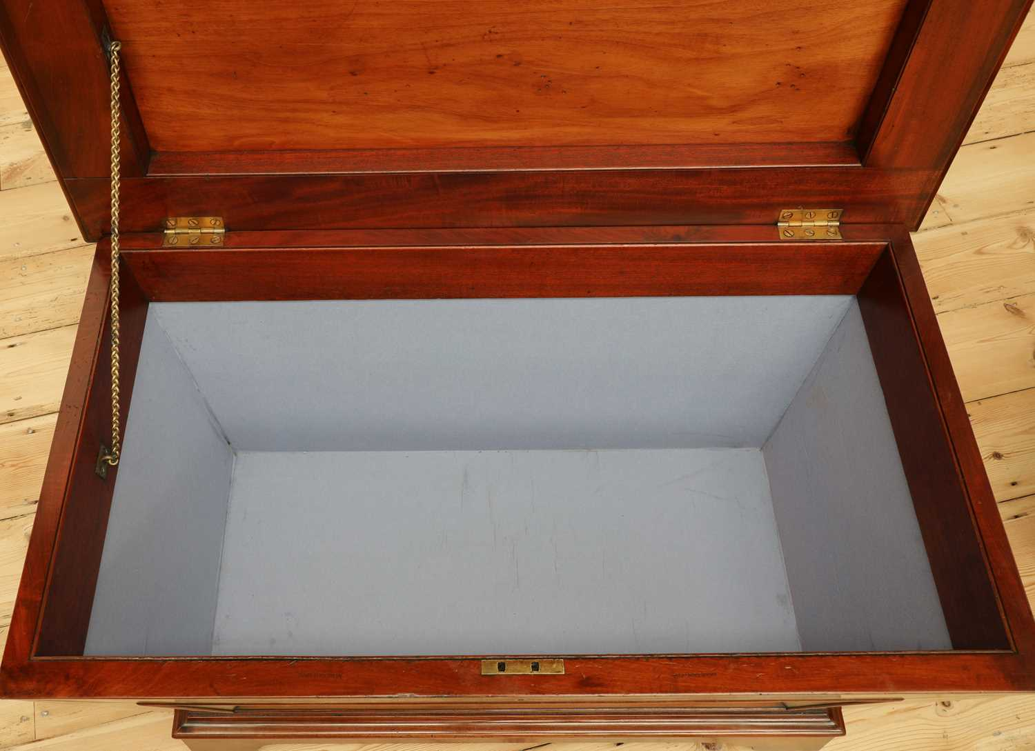 A near pair of mahogany wine coolers, - Image 10 of 10