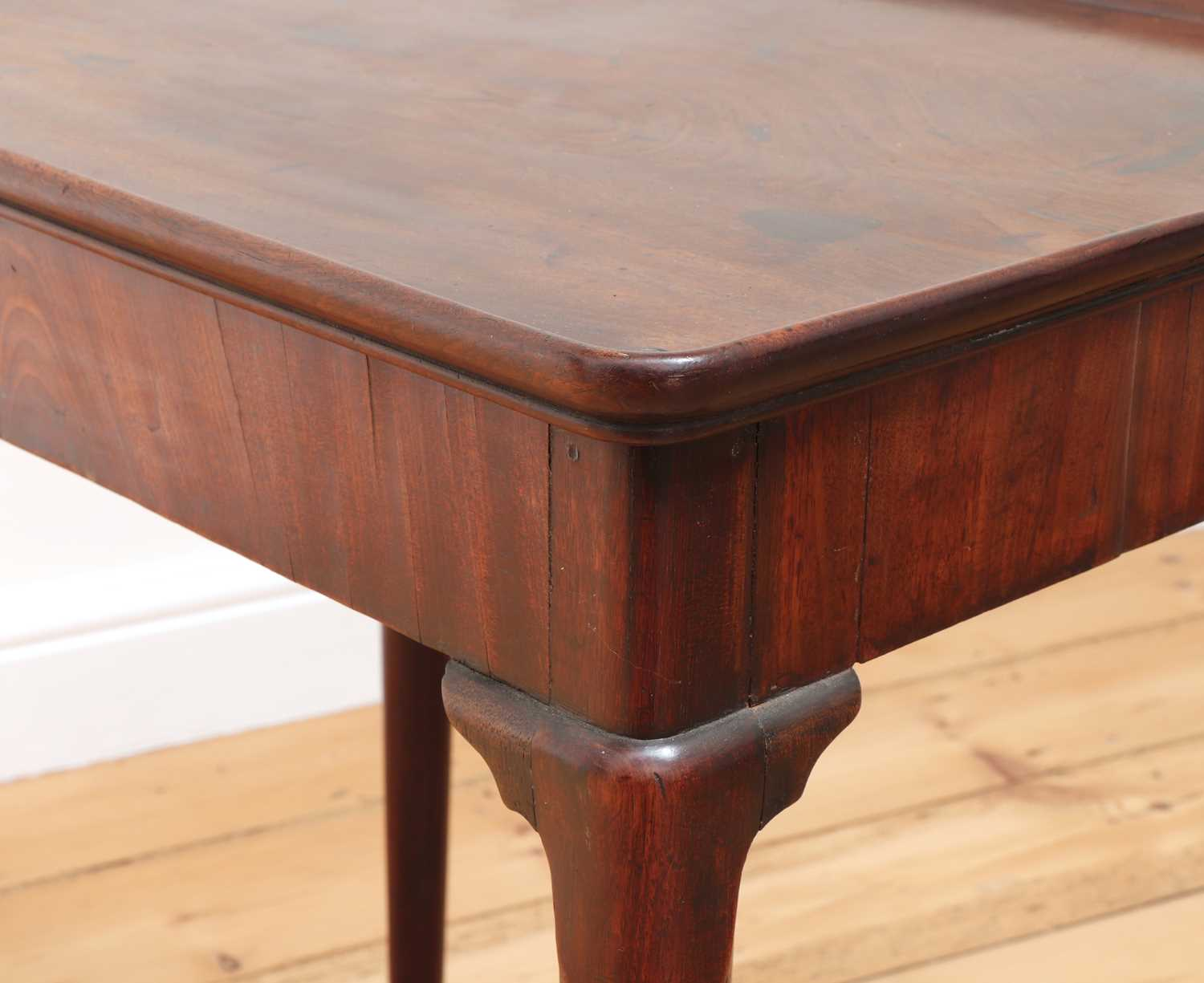 A George II mahogany silver table, - Image 8 of 9