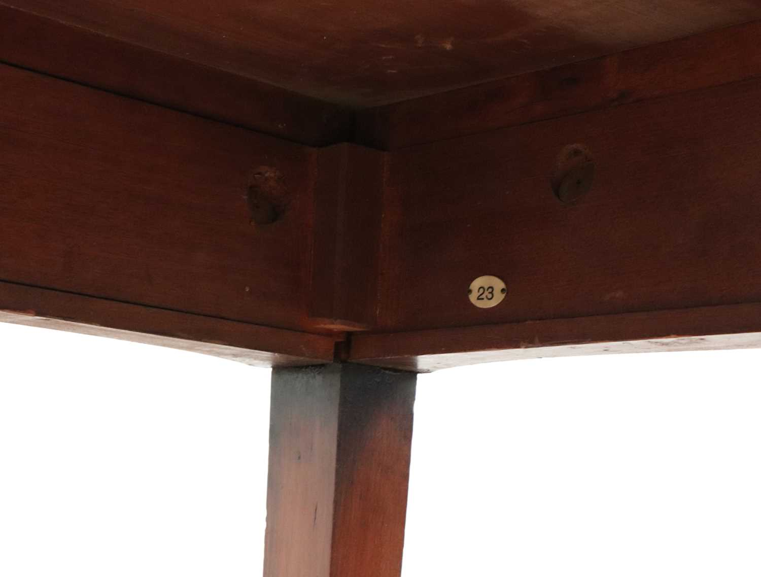 A pair of mahogany console tables, - Image 9 of 10