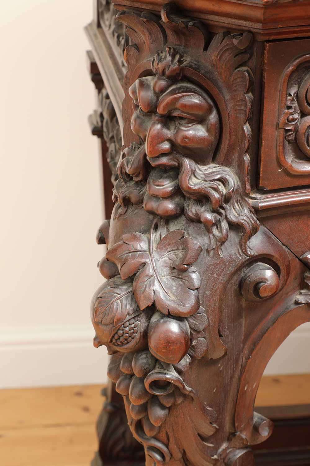 A large mahogany serving table by Gillows of Lancaster, - Image 3 of 10