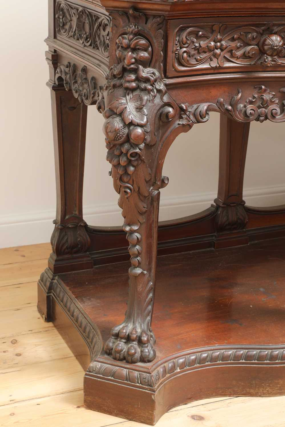 A large mahogany serving table by Gillows of Lancaster, - Image 7 of 10