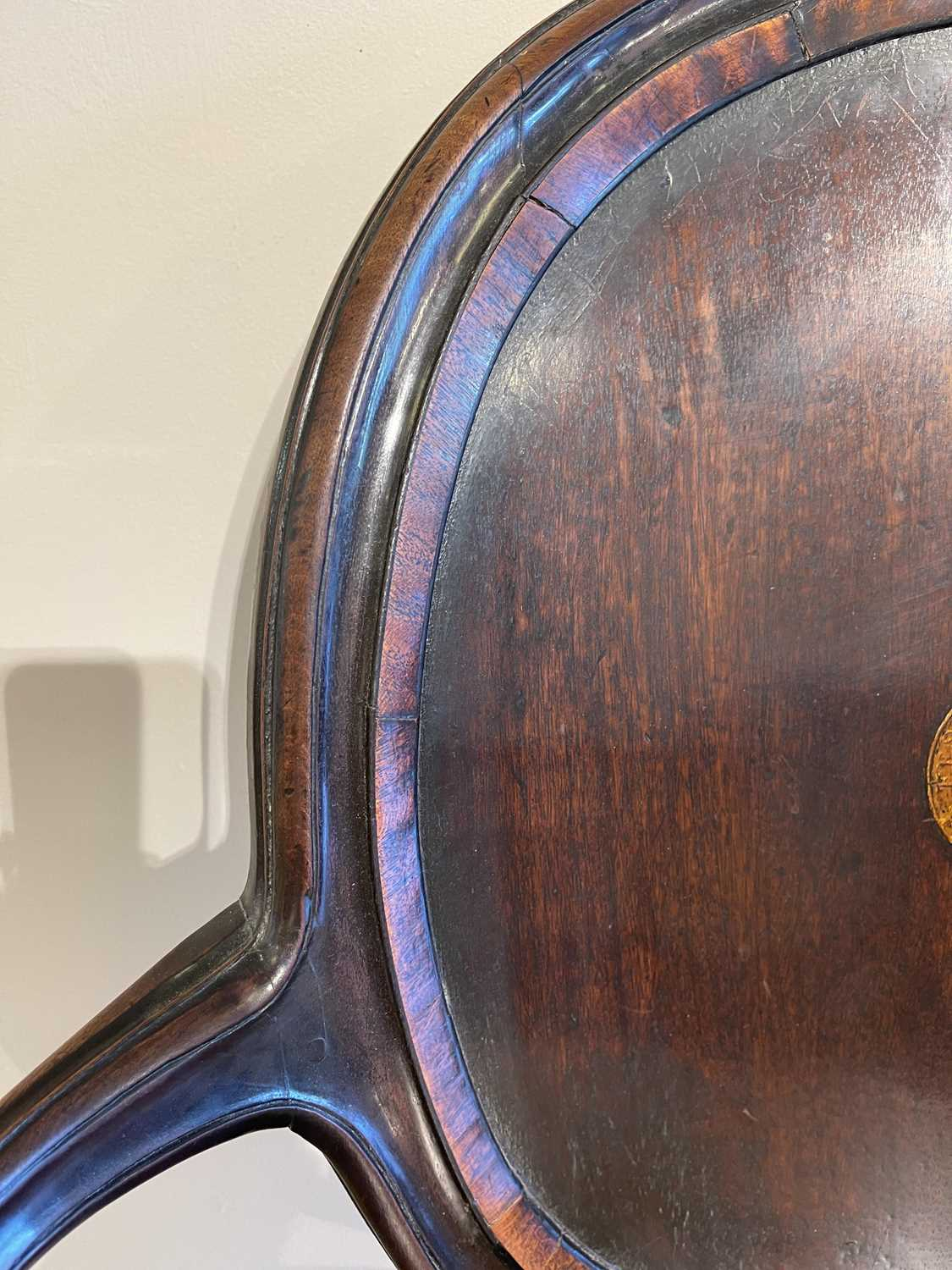 A pair of mahogany hall chairs, - Image 37 of 119