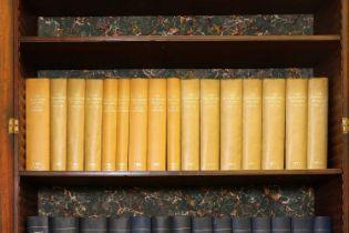A long run of bound 'The Burlington' magazines,