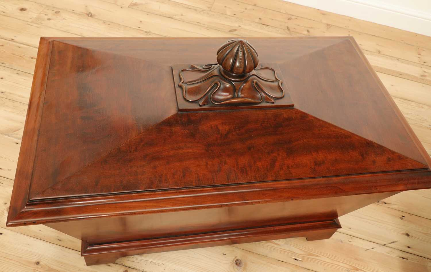 A near pair of mahogany wine coolers, - Image 5 of 10