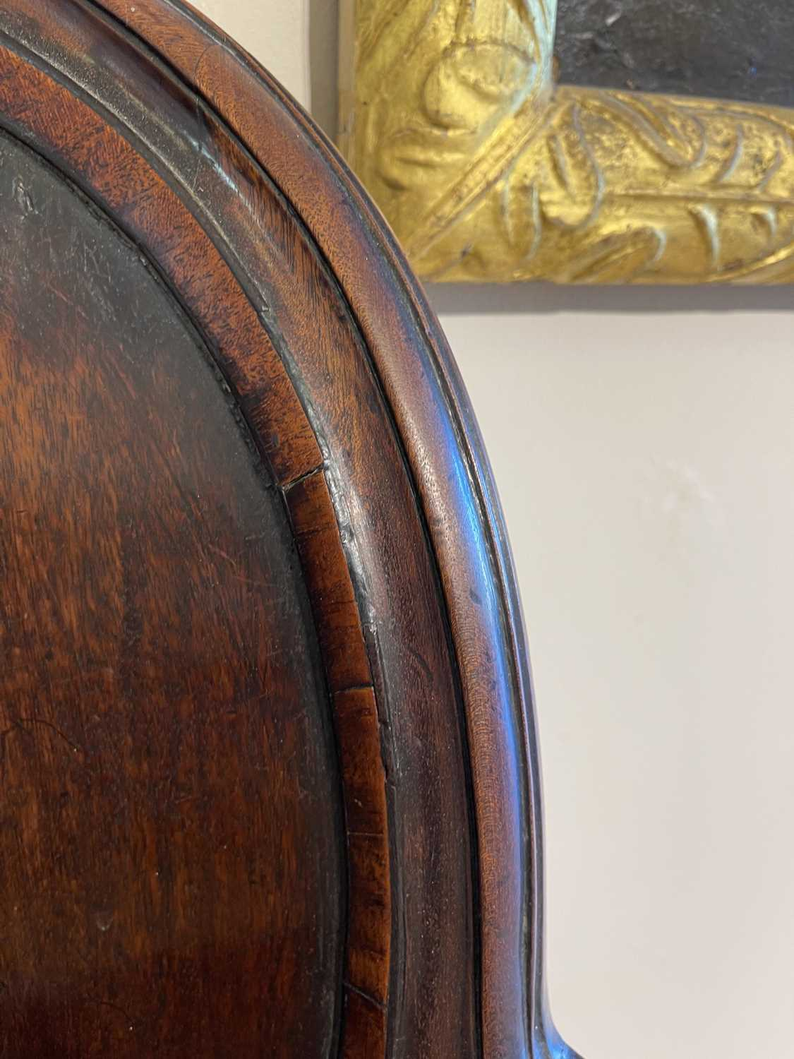 A pair of mahogany hall chairs, - Image 90 of 119