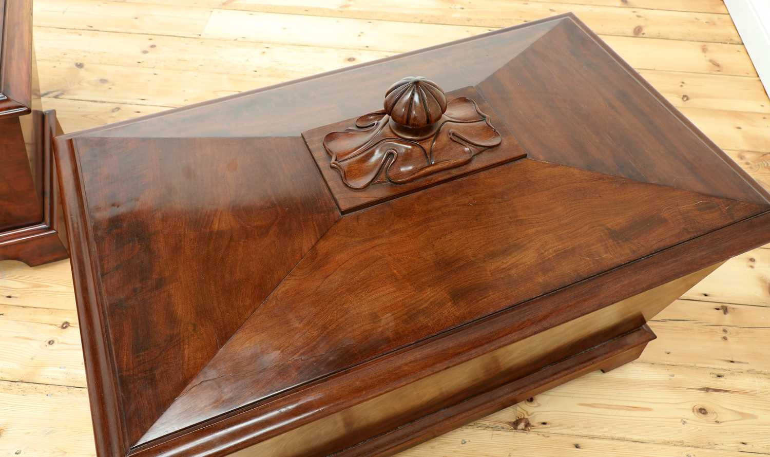A near pair of mahogany wine coolers, - Image 6 of 10