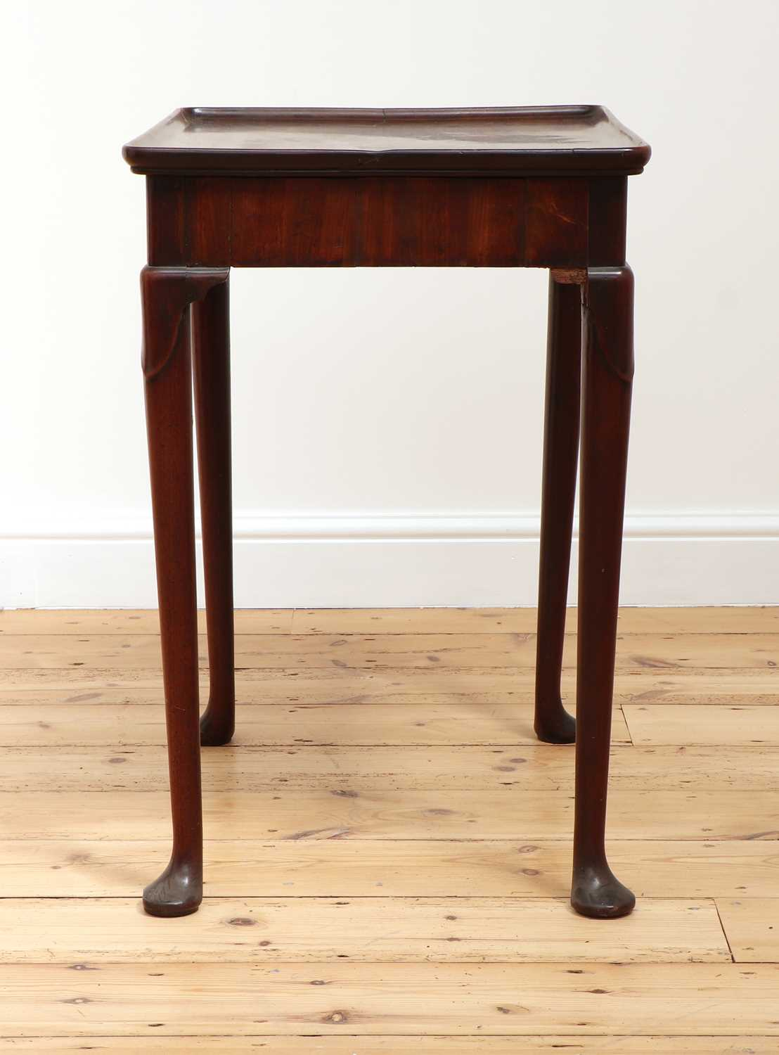 A George II mahogany silver table, - Image 4 of 9
