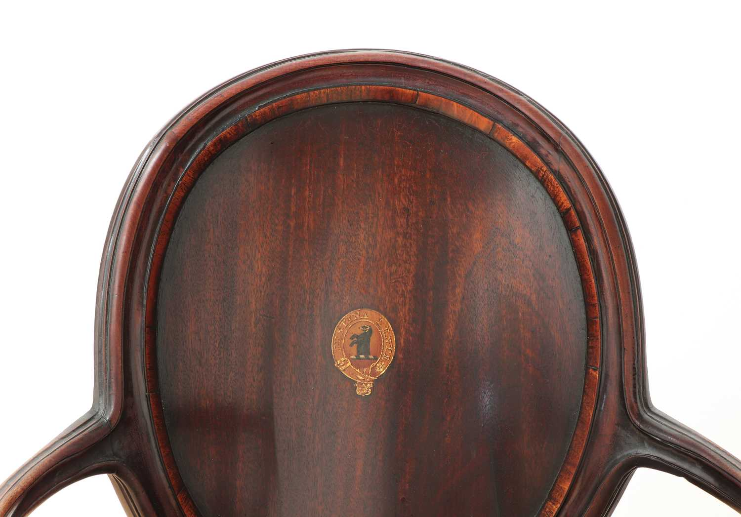 A pair of mahogany hall chairs, - Image 14 of 119