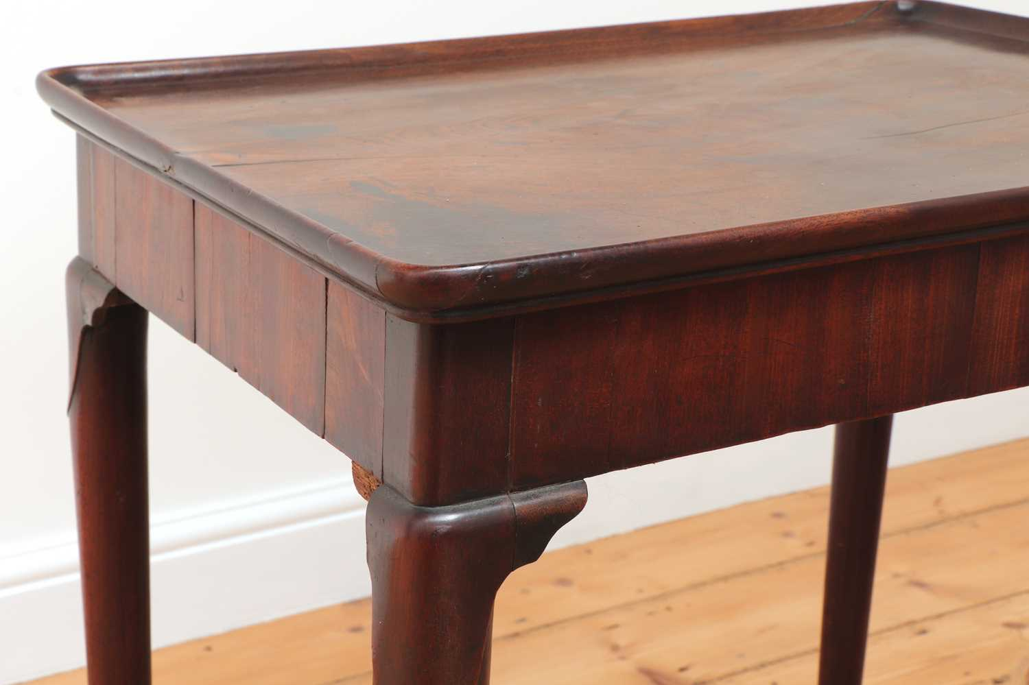 A George II mahogany silver table, - Image 6 of 9