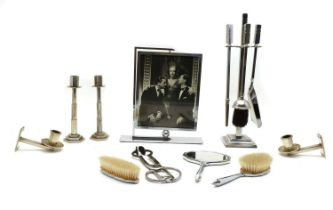A collection of Art Deco wares,