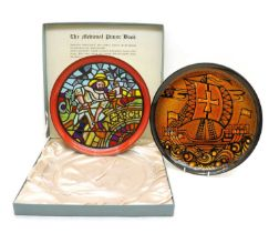 A Poole 'Medieval Calendar Series' charger 'March',