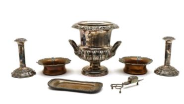 A collection of Old Sheffield Plate and silver plated items,