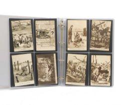 46 First World war postcards by Bruce Bairnsfather