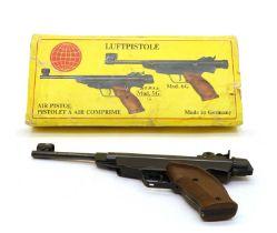 A German Diana 5G air pistol,