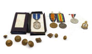 A First World War medal group,