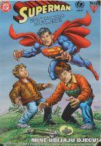 Superman mine awareness poster,