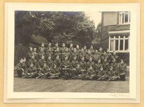 A WWII regiment portrait,