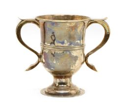 A George III silver loving cup