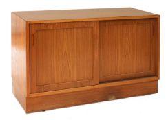 A Danish teak sideboard,
