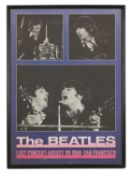 Two Beatles posters,