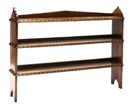 A Gothic Revival pitch pine bookcase,