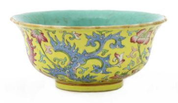 A Chinese famille rose bowl,