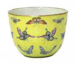 A Chinese famille rose teacup,