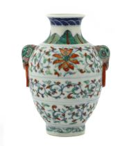A Chinese doucai vase,
