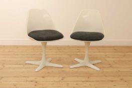 A pair of Arkana revolving chairs,