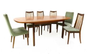 A G-Plan dining group,
