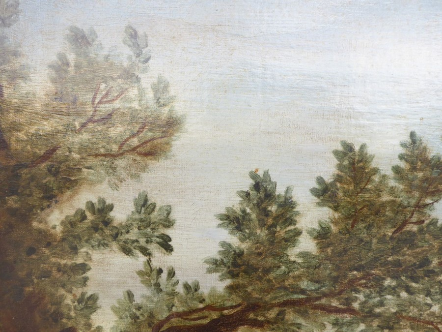 John Wootton ( British 1678-1764) - 'A Romantic Landscape',signed oil on canvas,39 x 54 ins (99 - Image 11 of 21