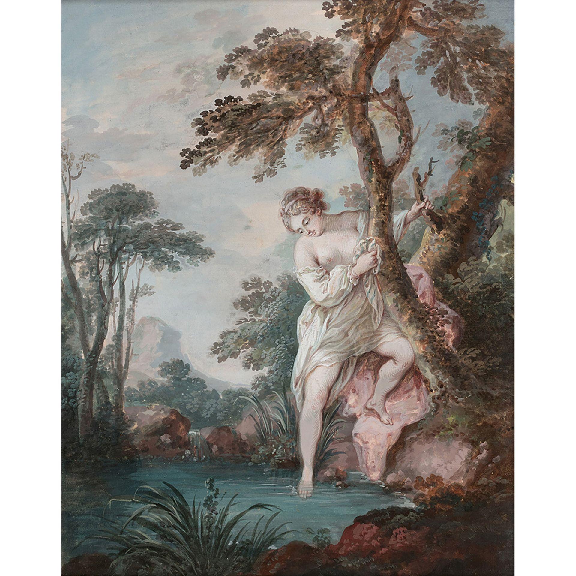 ÉCOLE FRANÇAISE DU XVIIIe SIÈCLE, ENTOURAGE DE JACQUES CHARLIER - Bild 3 aus 3