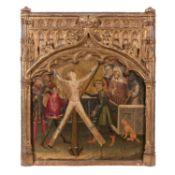 ATTRIBUÉ À MIGUEL ALCAÑIZ (Documenté de 1408 à 1447 à Valence, Barcelone et Majorque)