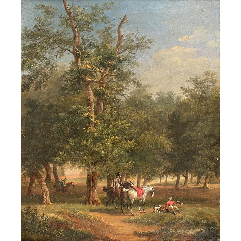 BERNARD-ÉDOUARD SWEBACH (Paris 1800-Versailles 1870)