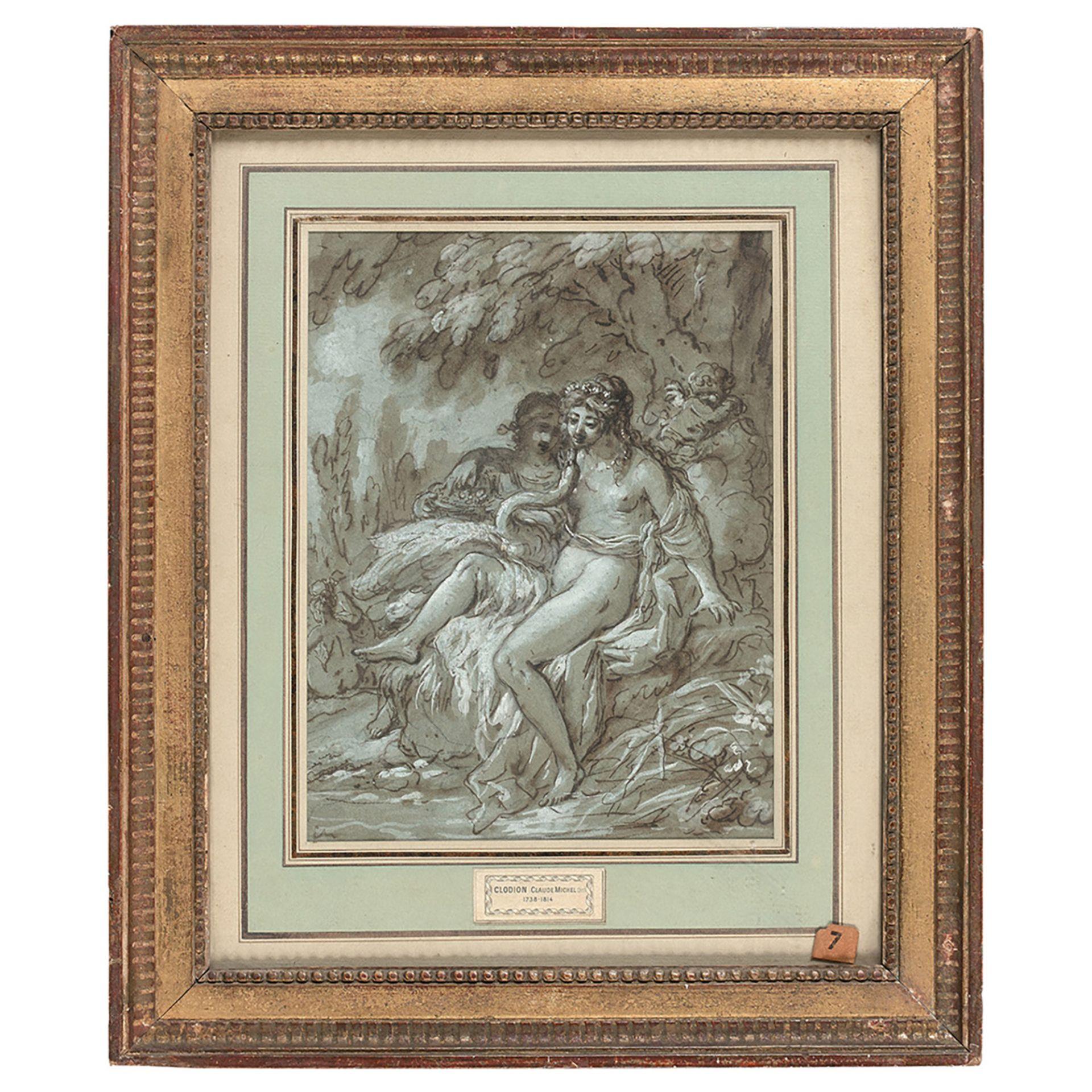 ATTRIBUÉ À CLAUDE MICHEL DIT CLODION (Nancy 1738-Paris 1814) - Bild 2 aus 2