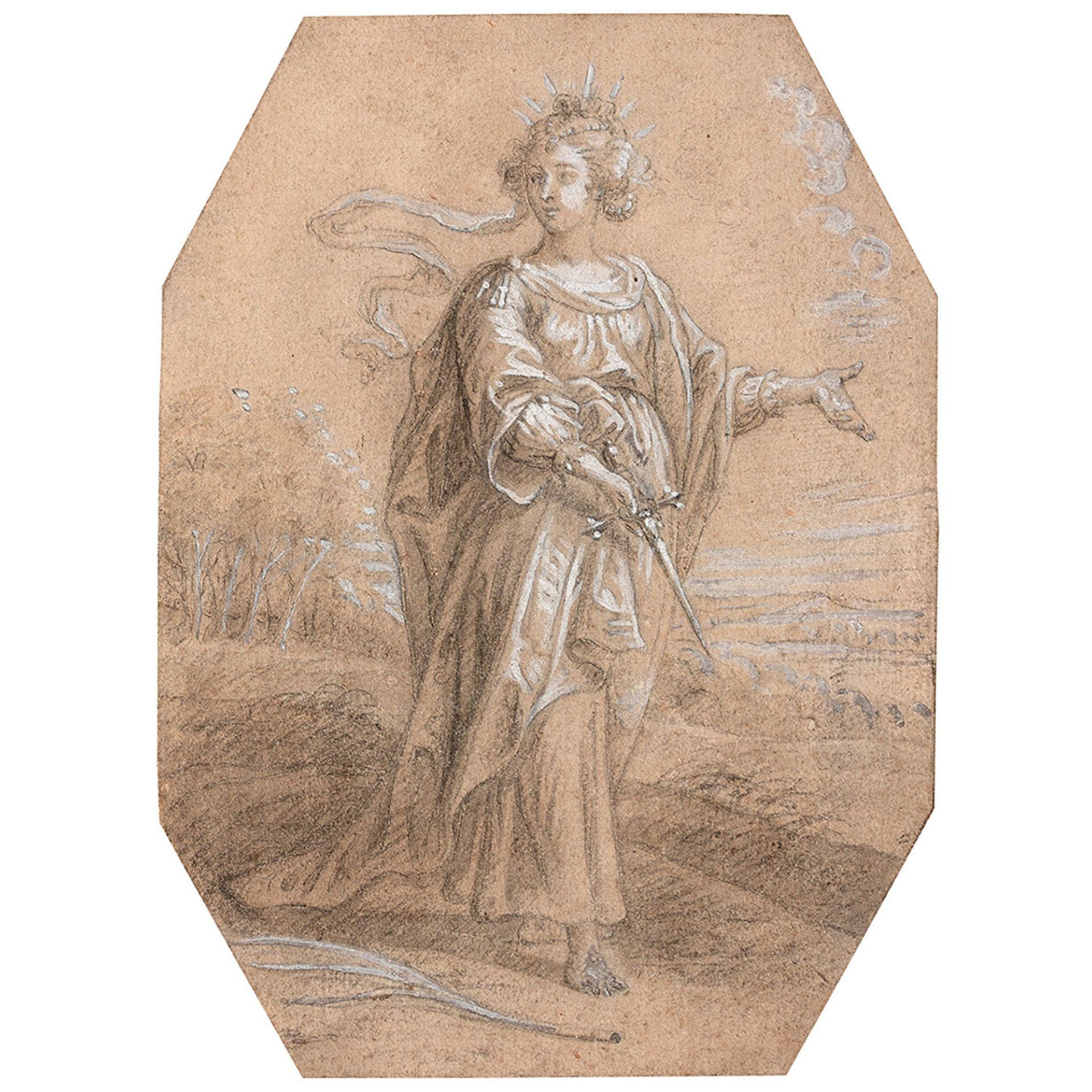 ÉCOLE FLAMANDE DU XVIIe SIÈCLE, ENTOURAGE D'ABRAHAM VAN DIEPENBEECK - Bild 3 aus 3
